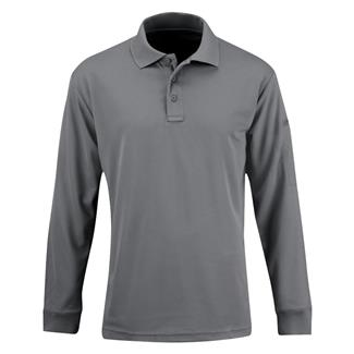 Propper Long Sleeve Uniform Polo Gray