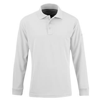 Propper Long Sleeve Uniform Polo White