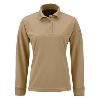 Propper Long Sleeve Uniform Polo Silver Tan