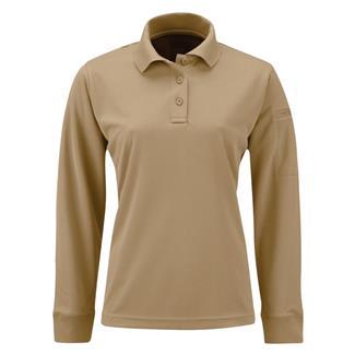 Propper Long Sleeve Uniform Polo Silver Tan