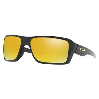 Oakley Double Edge Polished Black (frame) - 24K Iridium (lens)