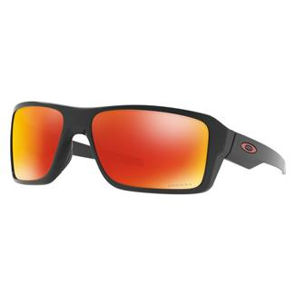 Oakley Double Edge Prizm Matte Black (frame) - Prizm Ruby Polarized (lens)