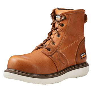 """Ariat 6"""" Rebar Wedge Golden Grizzly"""