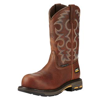 "Ariat 9"" Workhog Pull-On CT Nutty Brown"