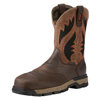 "Ariat 10"" Rebar Flex VentTek CT Chocolate Brown"