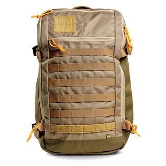 5.11 Rapid Quad Zip Pack Sandstone