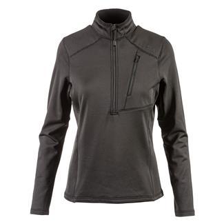 5.11 Glacier Half Zip Long Sleeve Shirt True Black