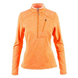 5.11 Glacier Half Zip Long Sleeve Shirt Nectar Heather