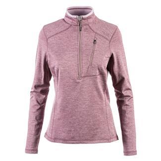 5.11 Glacier Half Zip Long Sleeve Shirt Plum Heather