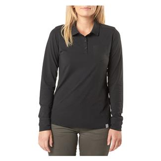 5.11 Enyo Long Sleeve Polo Black