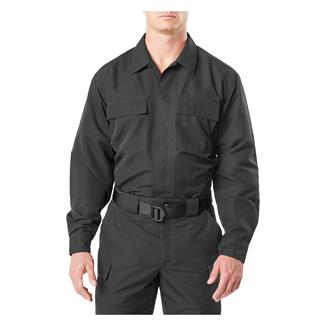 5.11 Fast-Tac TDU Long Sleeve Shirt Black