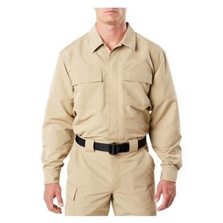 5.11 Fast-Tac TDU Long Sleeve Shirt TDU Khaki