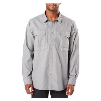 5.11 Expedition Long Sleeve Shirt Stone Wash Lunar