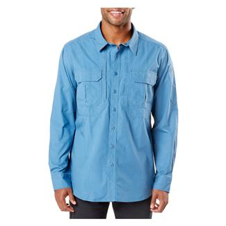 5.11 Expedition Long Sleeve Shirt Stone Wash Diplomat