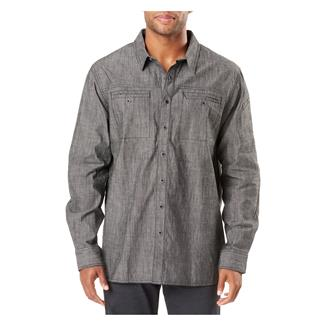 5.11 Rambbler Long Sleeve Shirt Stone Wash Charcoal