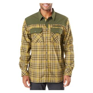 5.11 Endeavor Long Sleeve Flannel Shirt Kangaroo Plaid