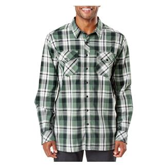 5.11 Peak Long Sleeve Shirt Thyme Plaid