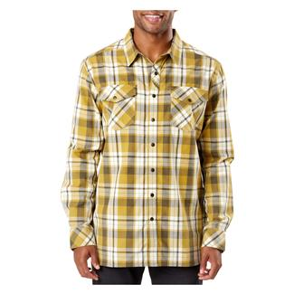 5.11 Peak Long Sleeve Shirt Lichen Plaid