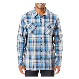 5.11 Peak Long Sleeve Shirt Diplomat Plaid