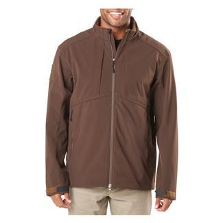 5.11 Sierra Softshell Jacket Burnt