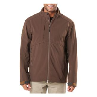 5.11 Sierra Softshell Jacket Burnt