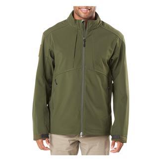 5.11 Sierra Softshell Jacket Moss