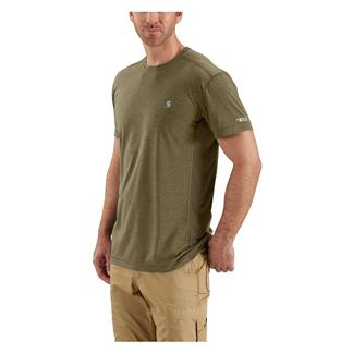 Carhartt Force Extremes T-Shirt Burnt Olive Heather / Burnt Olive