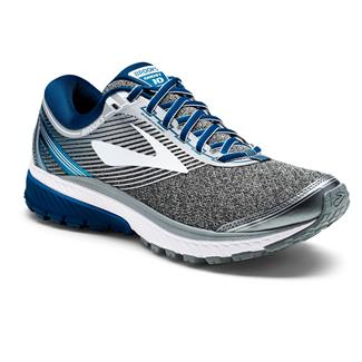 Brooks Ghost 10 Silver / Blue / White