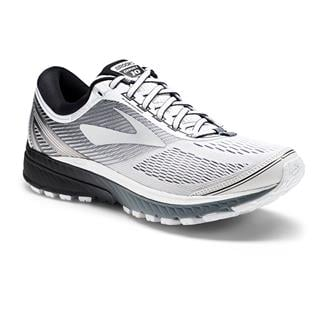 Brooks Ghost 10 White / Silver / Black