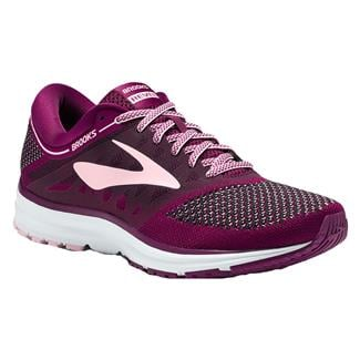 Brooks Revel Plum / Pink / Black