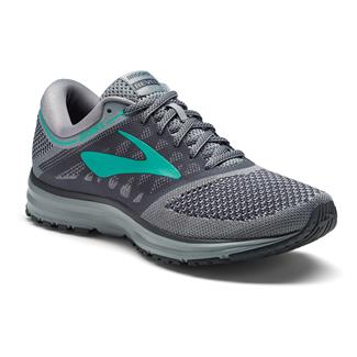 Brooks Revel Gray / Ebony / Teal Green
