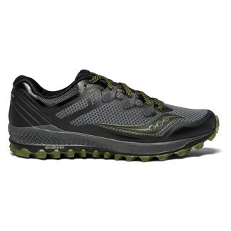 Saucony Peregrine 8 Gray / Black / Green
