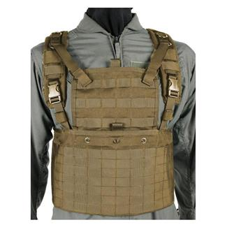 Blackhawk S.T.R.I.K.E. Commando Recon Chest Harness Coyote Tan