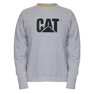 CAT Lightweight Crewneck Sweatshirt Birch Heather