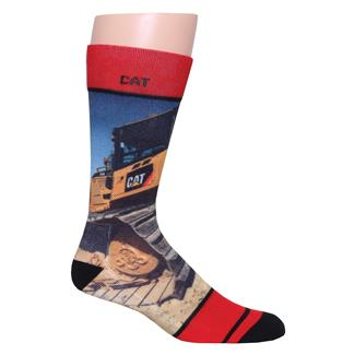CAT Machine Socks Machine Print
