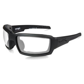 Wiley X WX Titan Matte Black (frame) - Clear (lens)