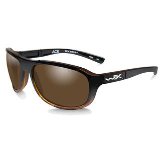 Wiley X WX Ace Gloss Tortoise Fade (frame) - Polarized Bronze (lens)