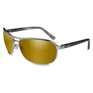 Wiley X WX Klein Gold (frame) - Polarized Venice Gold Mirror (lens)