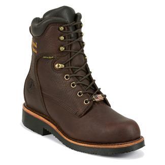"Chippewa Boots 8"" Grenn WP Rich Oiled Walnut"