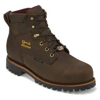 "Chippewa Boots 6"" Apache WP CT Bay Apache"