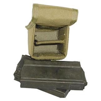 Blackhawk STRIKE Double M14 Pouch w/ Divider Coyote Tan