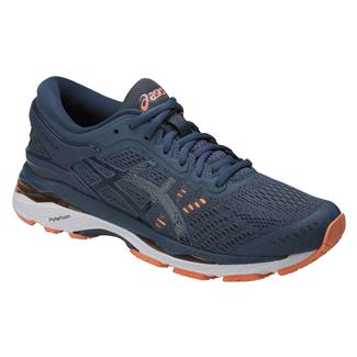 ASICS GEL-Kayano 24 Smoke Blue / Dark Blue / Cantaloupe
