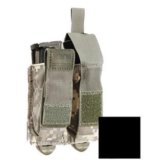 Blackhawk STRIKE Double Pistol Mag Pouch w/ TalonFlex Black