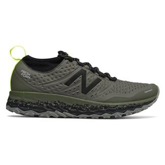New Balance Fresh Foam Hierro v3 Military Foliage Green / Black