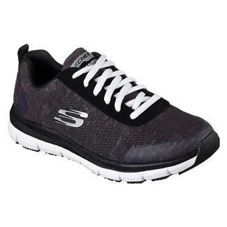 Skechers Work Comfort Flex Pro HC EH Black / White