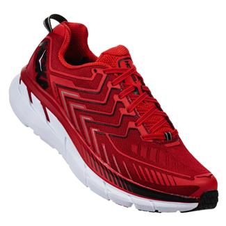Hoka One One Clifton 4 Haute Red / High risk Red