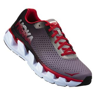 Hoka One One Elevon Black / Racing Red