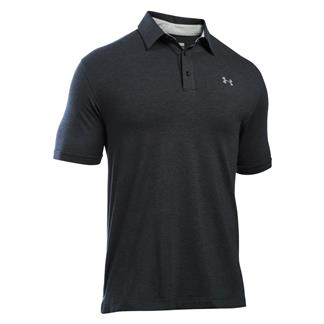 Under Armour Charged Cotton Scramble Polo Black / Black