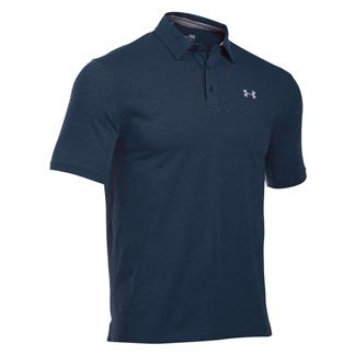 Under Armour Charged Cotton Scramble Polo Academy / Academy