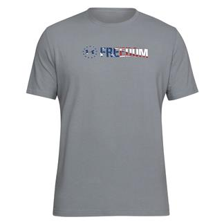 Under Armour Freedom Chest T-Shirt Steel / White